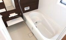 家族で入れる1坪サイズのお風呂。暖房機能は冬場必須。衣類乾燥機能は梅雨必須。(風呂)