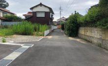 市道江津線。東側より撮影。
