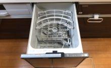 タカラスタンダードのシステムキッチン。食洗機付きです♪電気代が安い深夜にスタートする様にセットしておけば手で洗うより水道光熱費がお得なんですよ^^時短家事♪♪(キッチン)