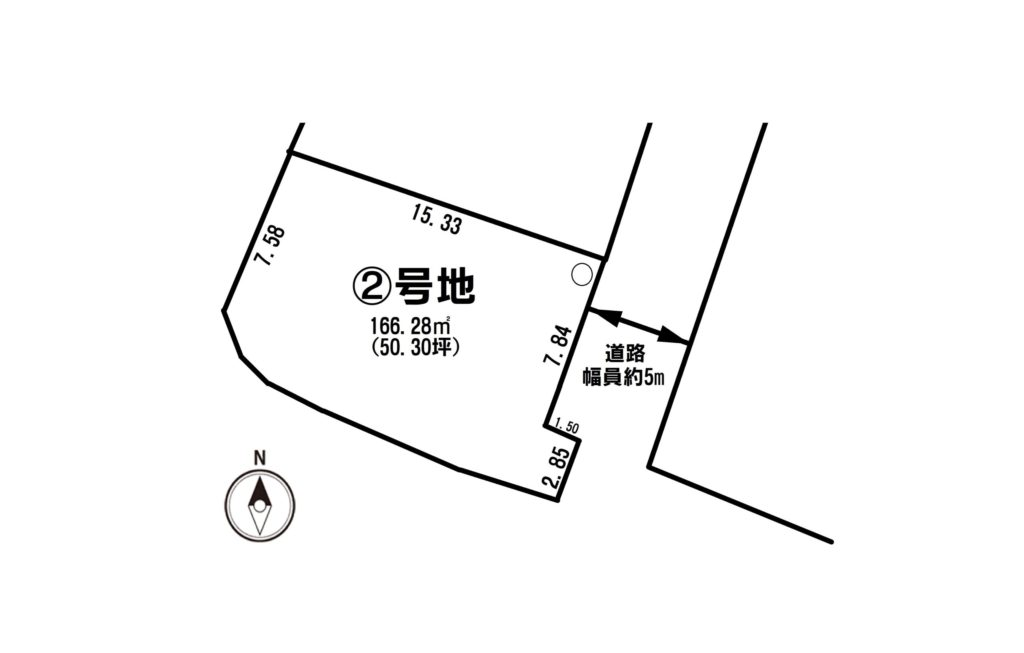 区画図(2号地)