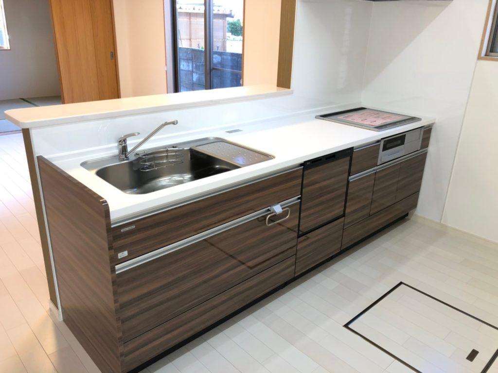 食洗機付き&3つ口IHコンロ&魚焼きグリル付き(キッチン)
