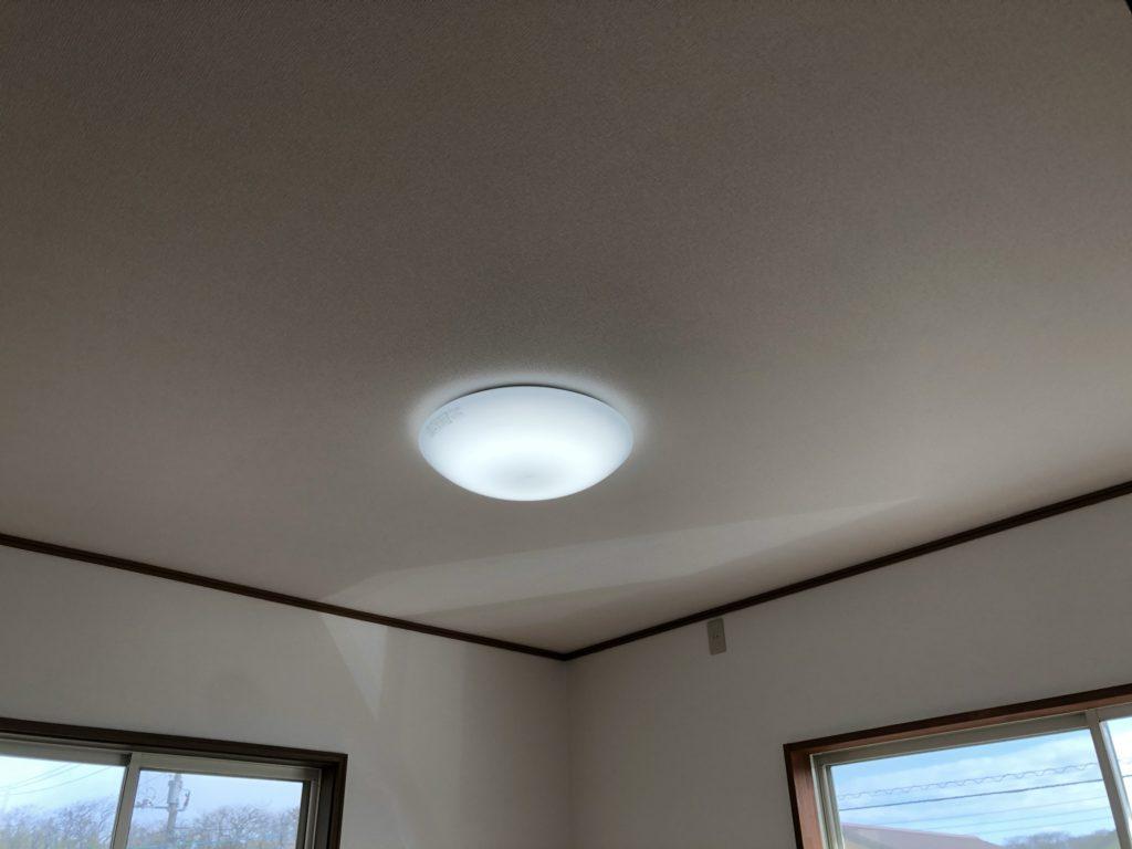 各部屋にはLED照明器具付き。エアコン配線と、TV配線も設置してあります。