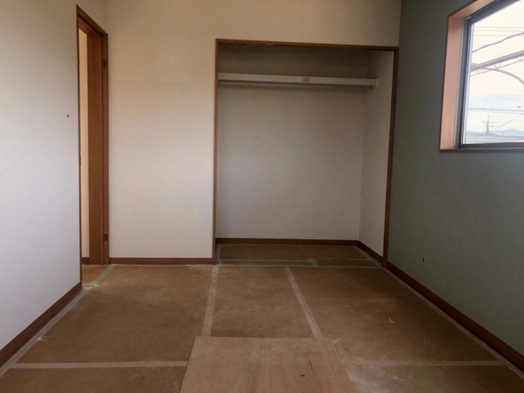 各部屋にクローゼットがあります。